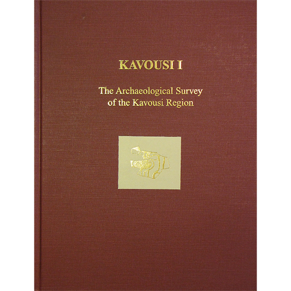 Kavousi I: The Archaeological Survey Of The Kavousi Region