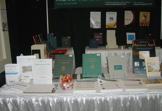 Close-up Shot Of The Exhibition Booth